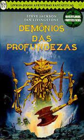 demônios das profundezas livro de rpg solo