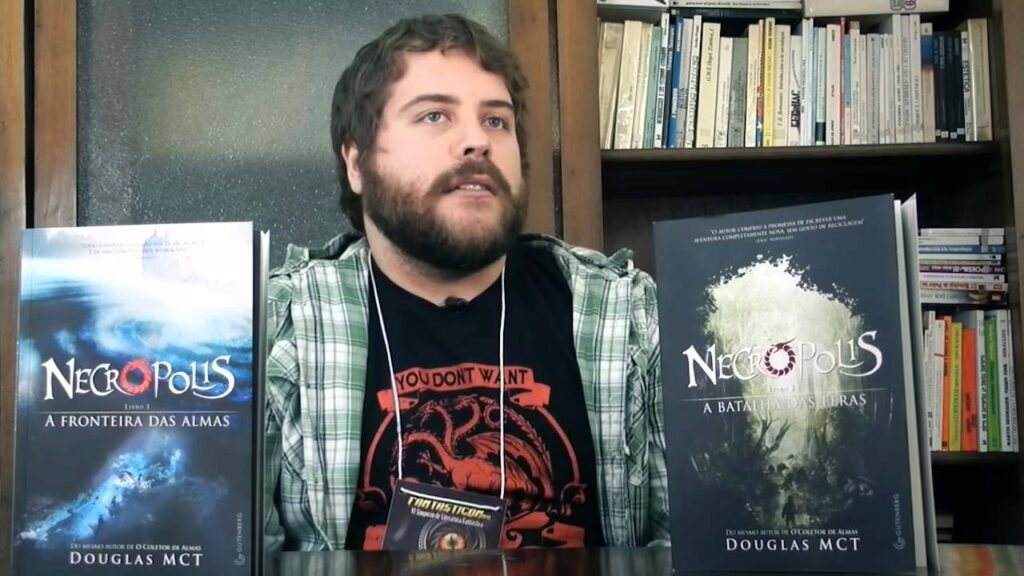autor douglas mct e seus livros