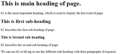 exemplo de heading tag do mini curso de seo para escritores