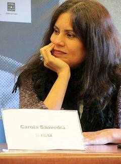 Carola Saavedra escritora brasileira