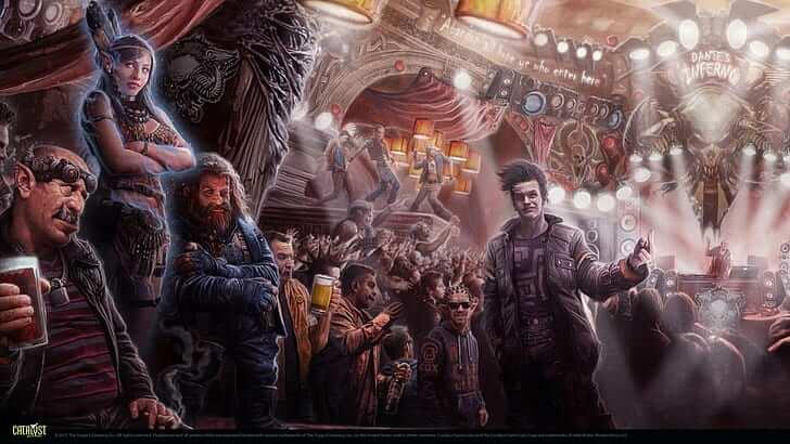 cyberpunk futuristic shadowrun fantasia urbana rpg