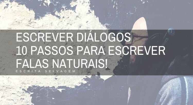 escrever dialogos passos para escrever falas naturais